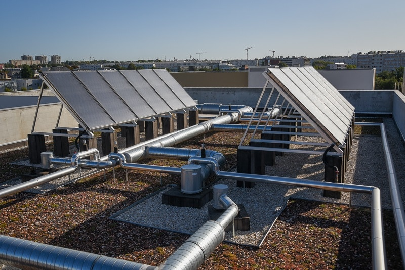 La MeSDyn : pour une installation solaire thermique performante