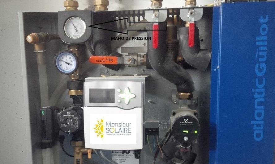 Read more about the article Pression d'une installation solaire thermique : vérifiez !