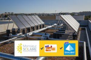 """Solaire Thermique France obtient QUALIBAT 5143 """"Maintenance installation solaire thermique"""""""