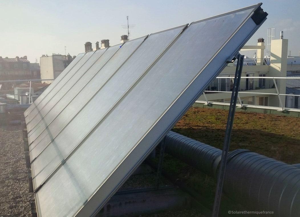 Faire des économies en eau chaude avec le solaire thermique, même en hiver !